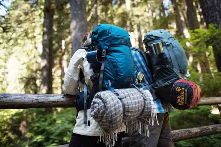 Backpacking items to take traveling