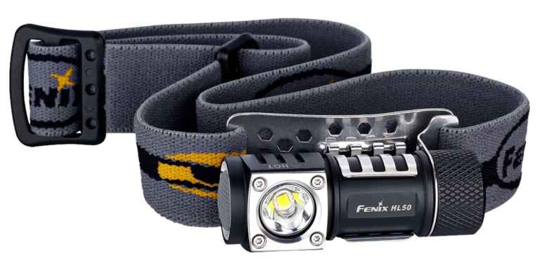 Fenix HL50 best headlamps for backpacking