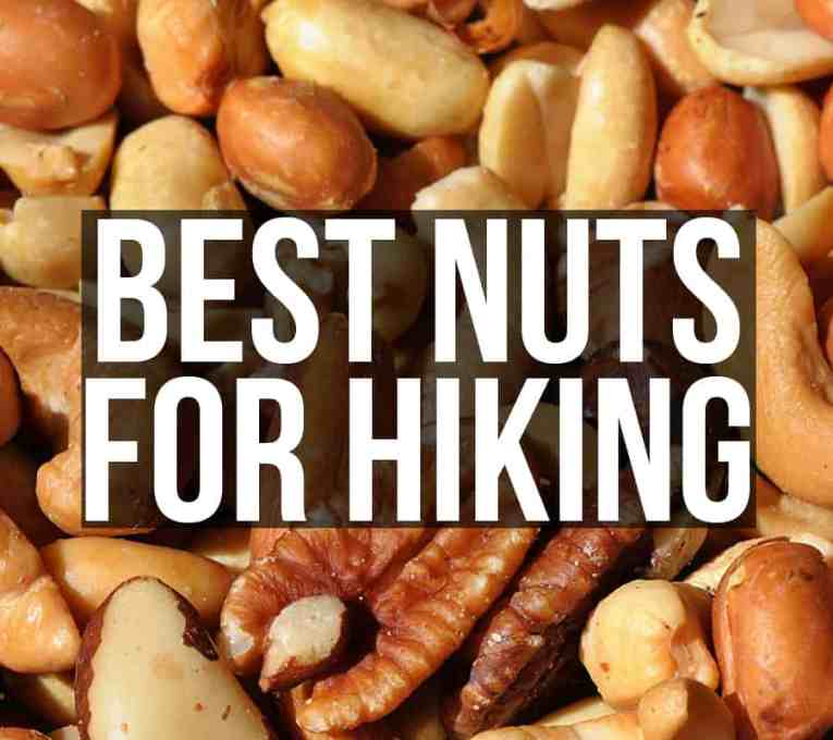 10 best nuts for hiking