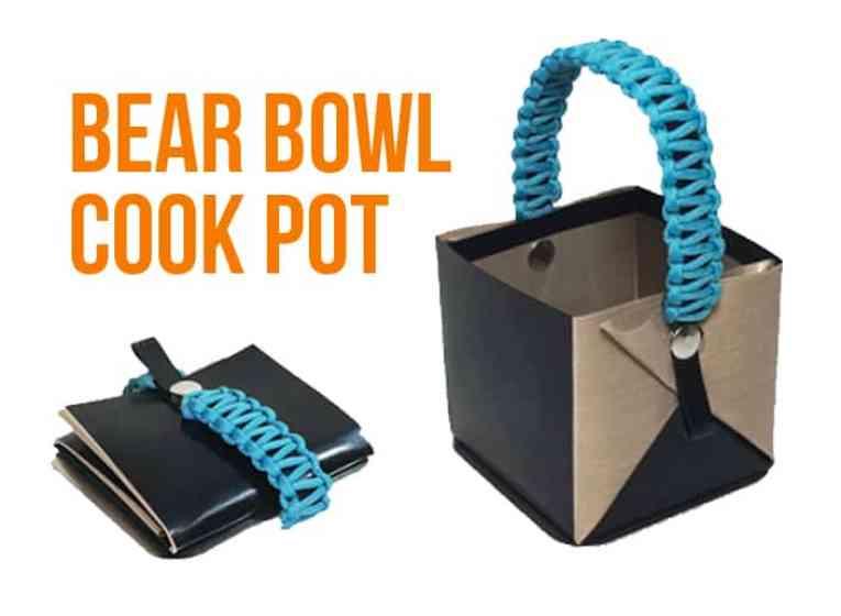 bear bowl lightweight cook pot