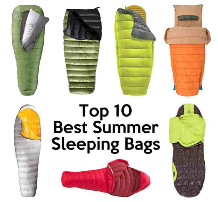 best warm weather sleeping bags for backpacking