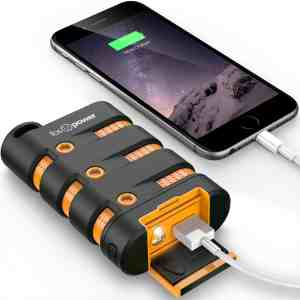 FosPower PowerActive 10,200 mAh Power Bank