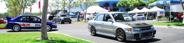 Lancer Evos @ MOD 2007, California, USA