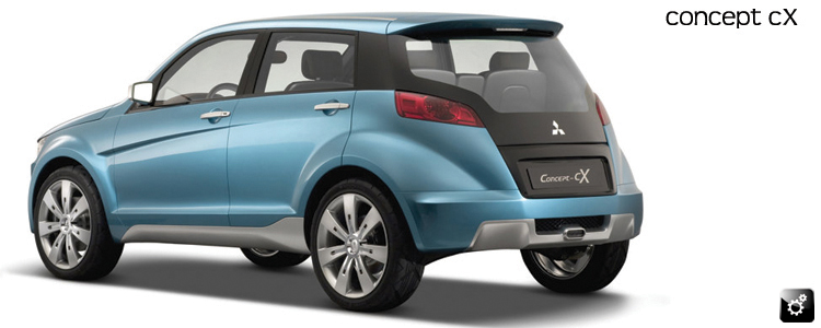 Concept cX rear view.