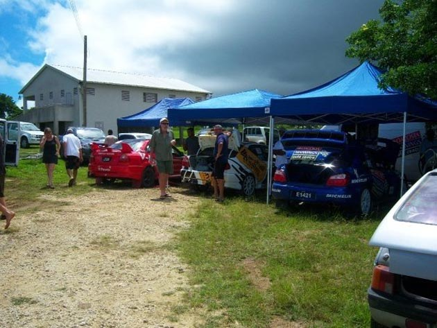 rally service area