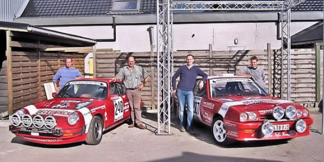L&H Historic Team: Porsche 911 and Opel Manta Rallying
