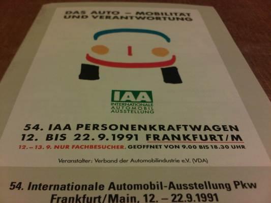 The 54th Frankfurt International Autoshow