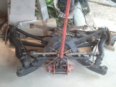 rear K-member ready for install