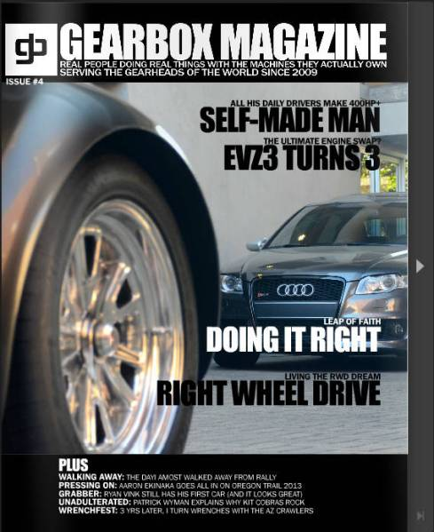 GEARBOX MAGAZINE: ISSUE #4