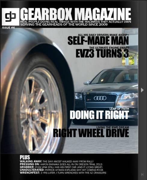 GEARBOX MAGAZINE: ISSUE #4
