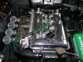 '67 Giulia Super Engine