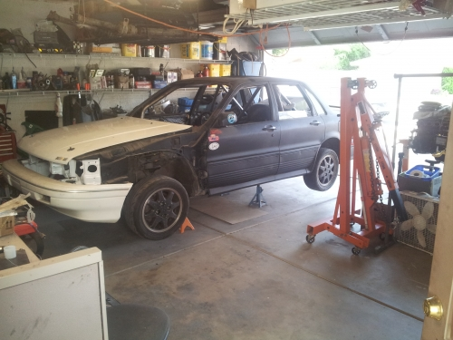 The author's GVR4 rally dream. Add 2yrs of dust.