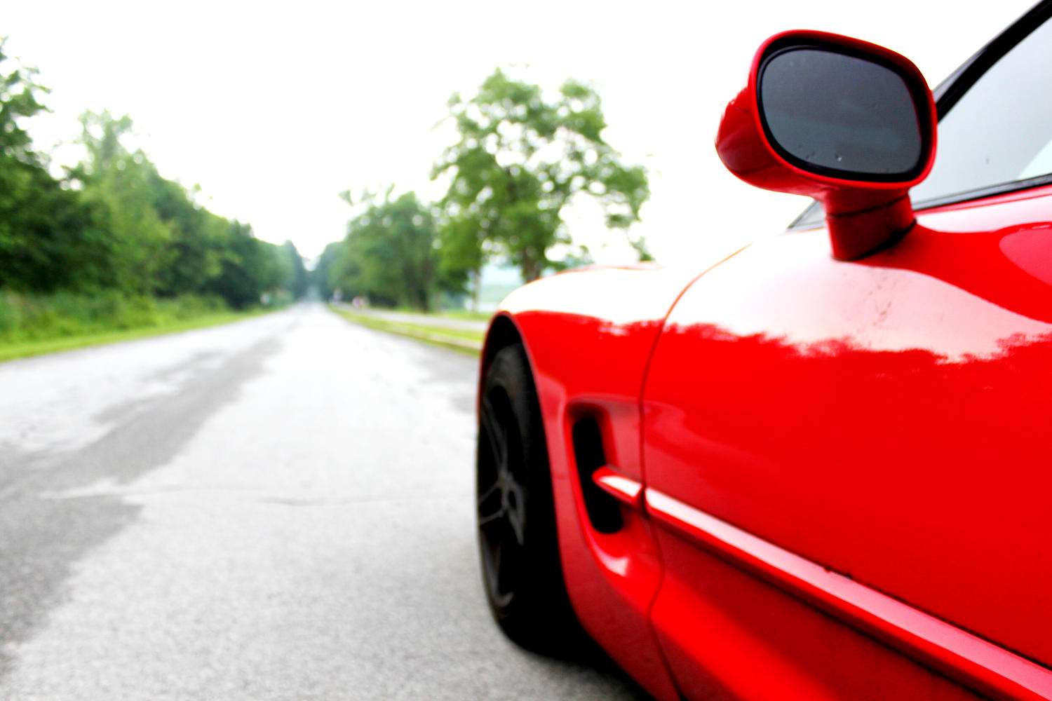 Before you dump the clutch on a mid-life crisis, check those mirrors. | image: Christian H. , Flickr CC