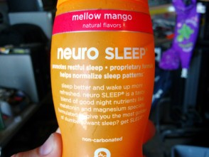 Need to get some sleep before a night shift? This stuff is pretty good.