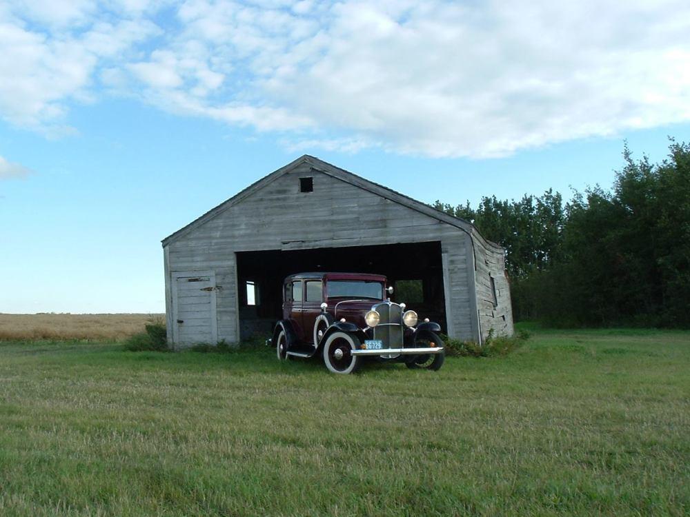 pontiac barn