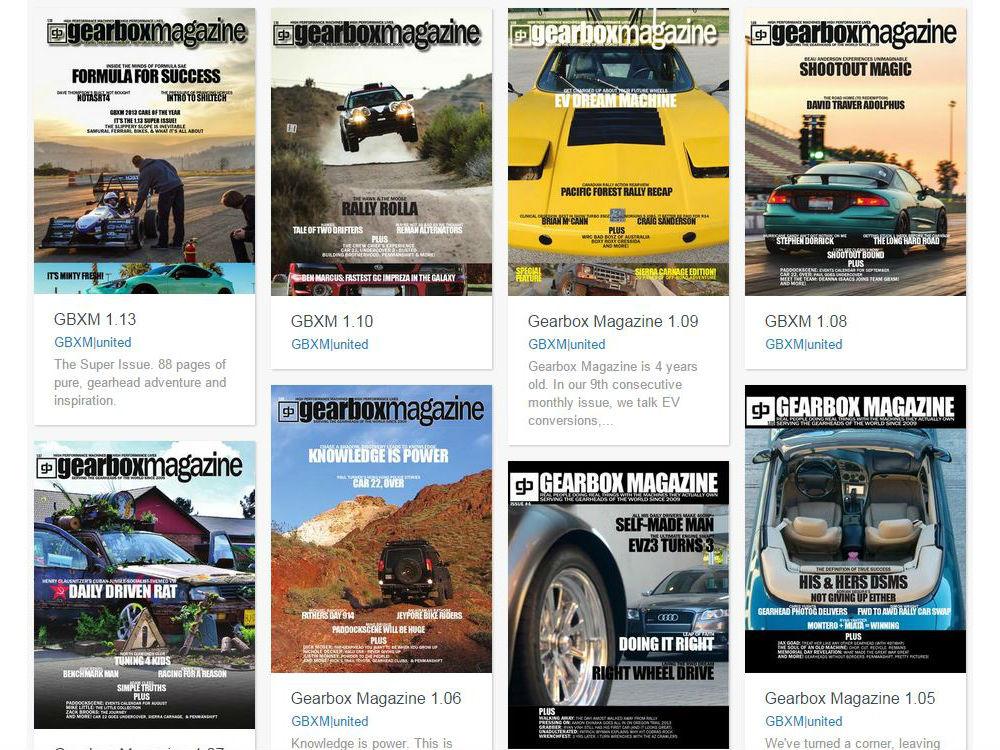 gearbox magazine