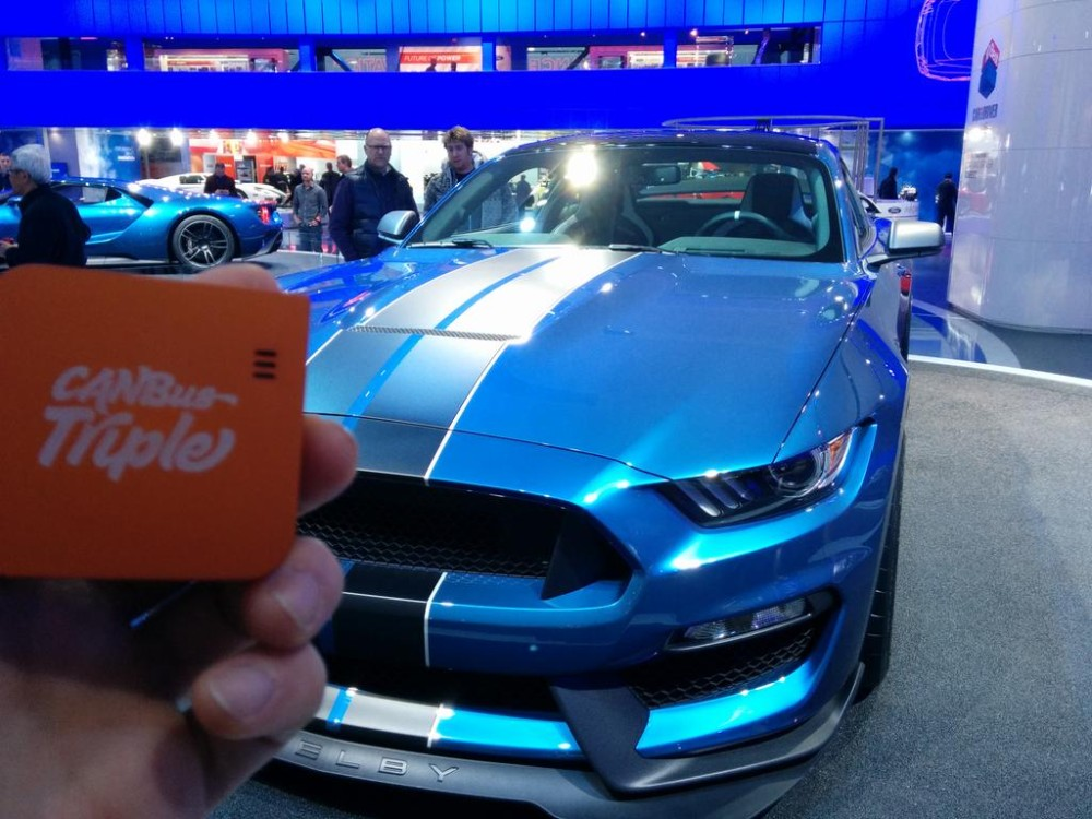 CANBus Triple Mustang