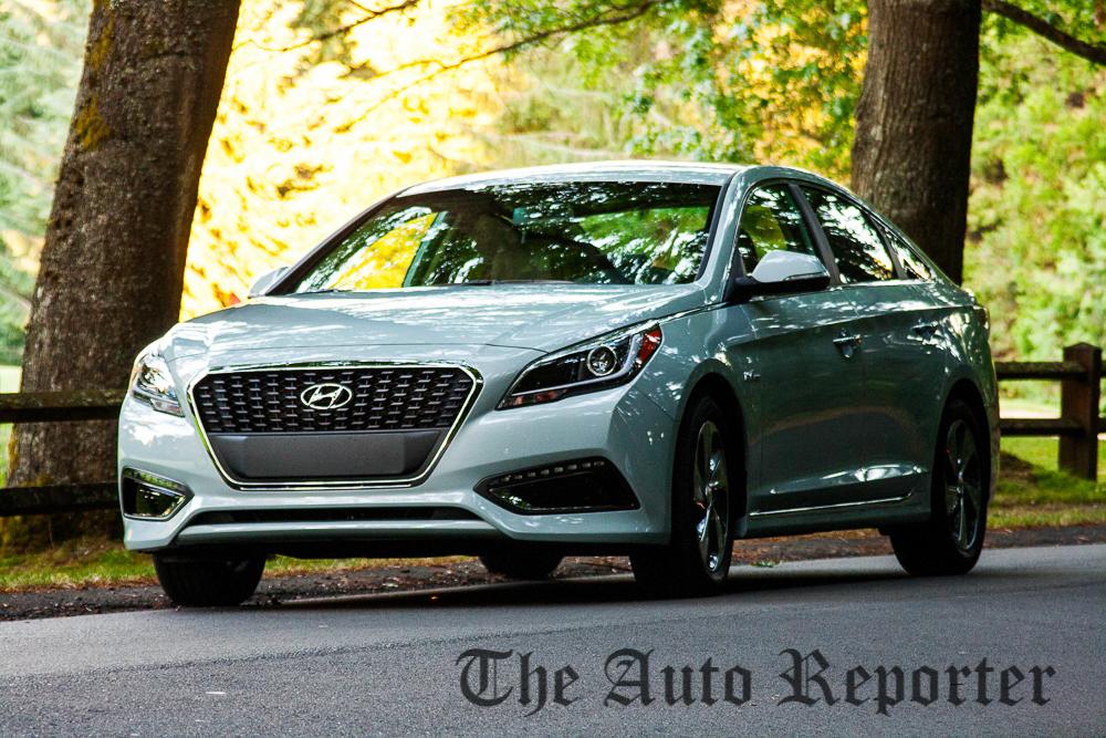 2015 Sonata Hybrid is a 'Seaport' green machine