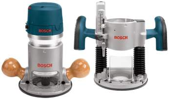 Bosch 1617EVSPK 12 Amp 2-14-Horsepower Plunge and Fixed Base Variable Speed Router