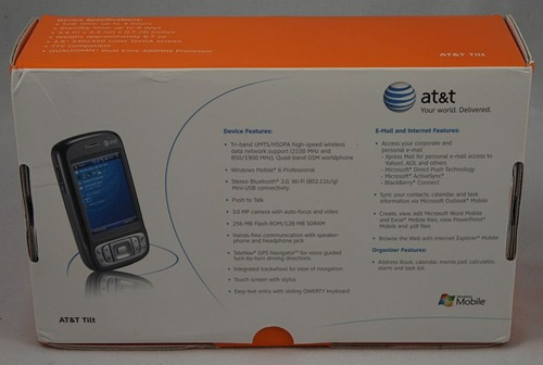 The AT&T Tilt Unboxed and Discussed