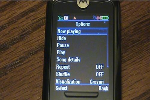The Alltel Motorola MOTOROKR Z6m Mobile Phone Review
