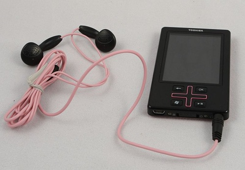 The Toshiba Gigabeat T400 Digital Music Player Review