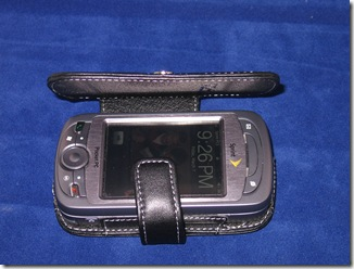 Review: The PDair Leather Case for the Sprint Mogul (PPC 6800)