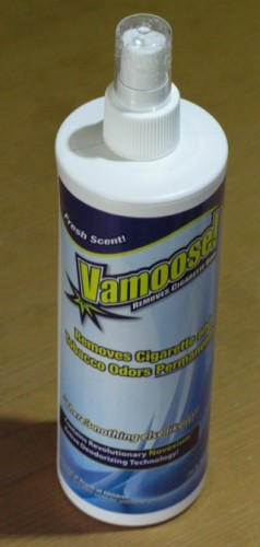 Vamoose! Tobacco Odor Eliminator Review