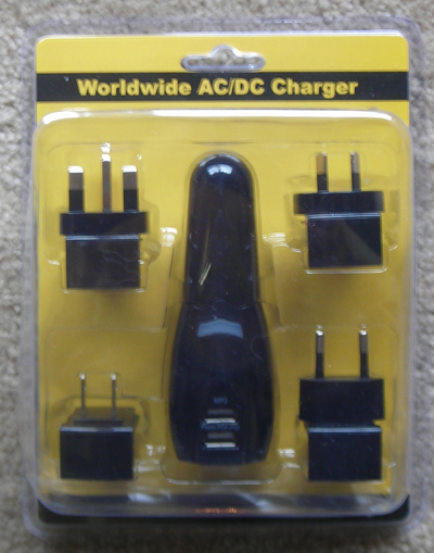 USBFever 2-in-One Car/Home 2 port USB Charger