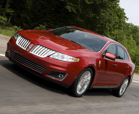 First Drive: 2009 Lincoln MKS luxury sedan