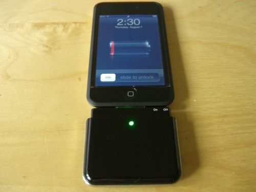 Attached To an iPod Touch