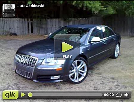 Wednesday Walkaround: 2008 Audi S8