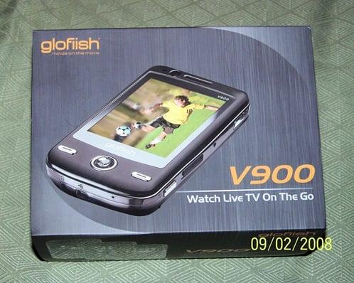 E-TEN V900 WM Pro 6.1 Mobile Device Unboxing