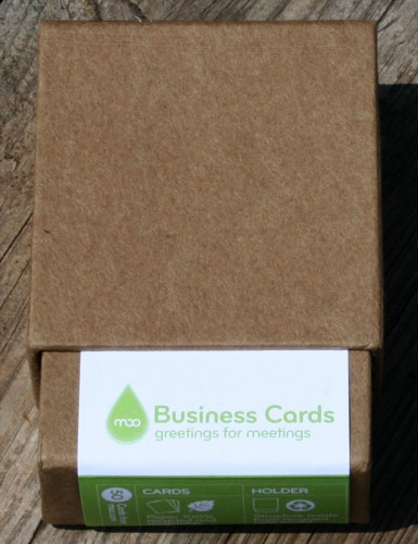 MOO Business Cards: MOO MiniCards Grow Up