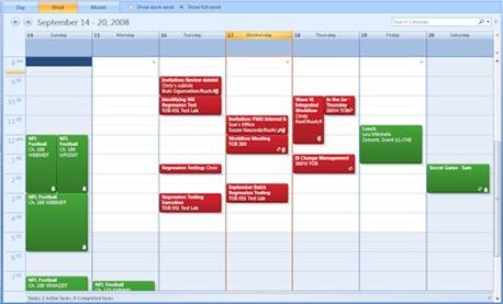 Outlook Calendar 2