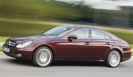 2009 Mercedes-Benz CLS550: The four-door sport coupe