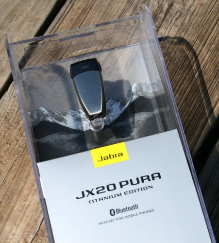 The Jabra JX20 PURA Titanium Edition Bluetooth Headset Review