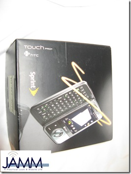 Unboxing the HTC Touch Pro (Sprint Edition)
