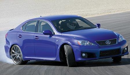 Lexus IS F: Fast, Fun, Fierce!