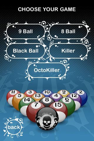 Killer Pool for iPhone by SD Games