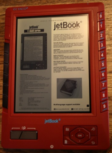 The Ectaco jetBook Universal Portable Reading Device Review
