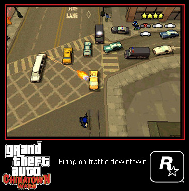 Review: Grand Theft Auto Chinatown Wars for Nintendo DS  Review: Grand Theft Auto Chinatown Wars for Nintendo DS