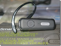 Review: Griffin SmartTalk Bluetooth Headset  Review: Griffin SmartTalk Bluetooth Headset  Review: Griffin SmartTalk Bluetooth Headset