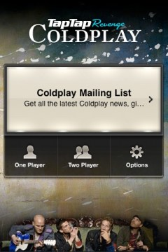 Tap Tap Revenge, Coldplay Edition Review
