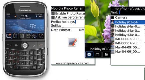 Review: Mobiola Photo Renamer for BlackBerry
