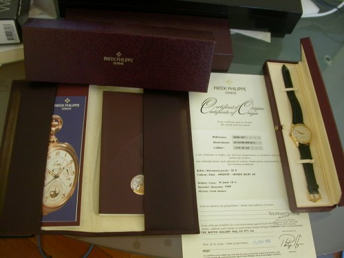 Patek Philippe has Arrived!    Patek Philippe has Arrived!
