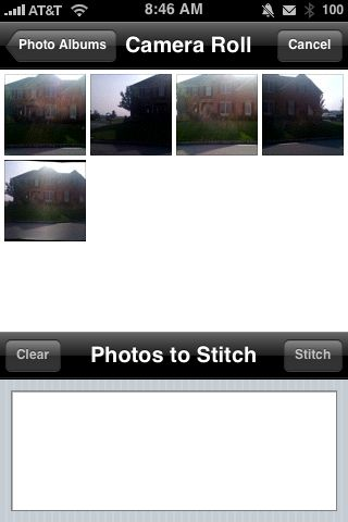 Review:  Auto Stitch for iPhone   Review:  Auto Stitch for iPhone   Review:  Auto Stitch for iPhone