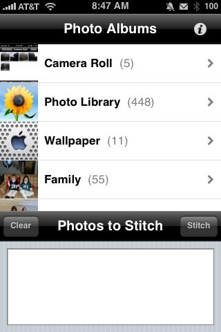 Review:  Auto Stitch for iPhone   Review:  Auto Stitch for iPhone