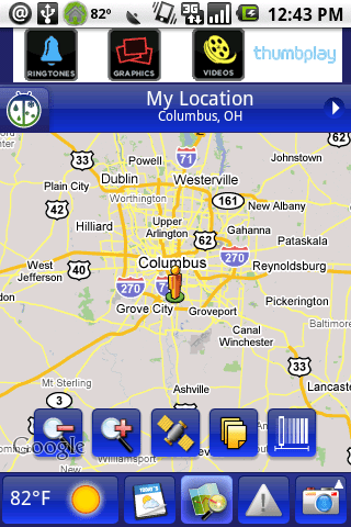 WeatherBug for Android Review  WeatherBug for Android Review