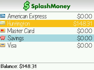 Review: SplashMoney Personal Finance Manager for BlackBerry Smartphones